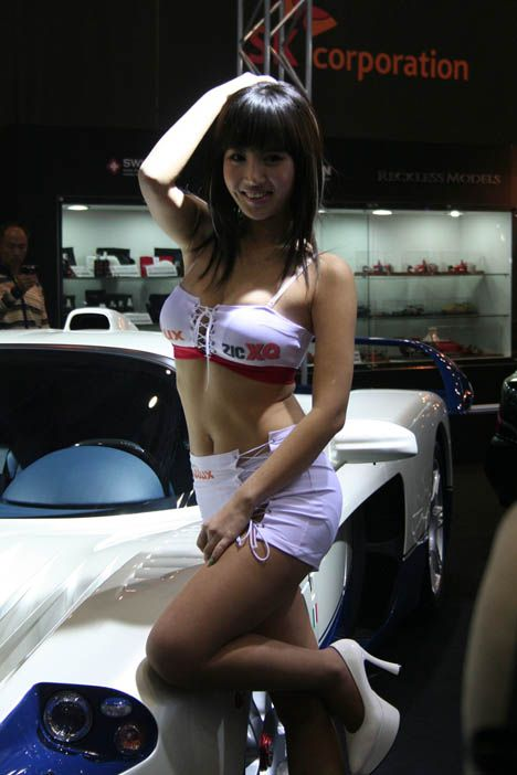 from Kymani sexy nude ladies at car